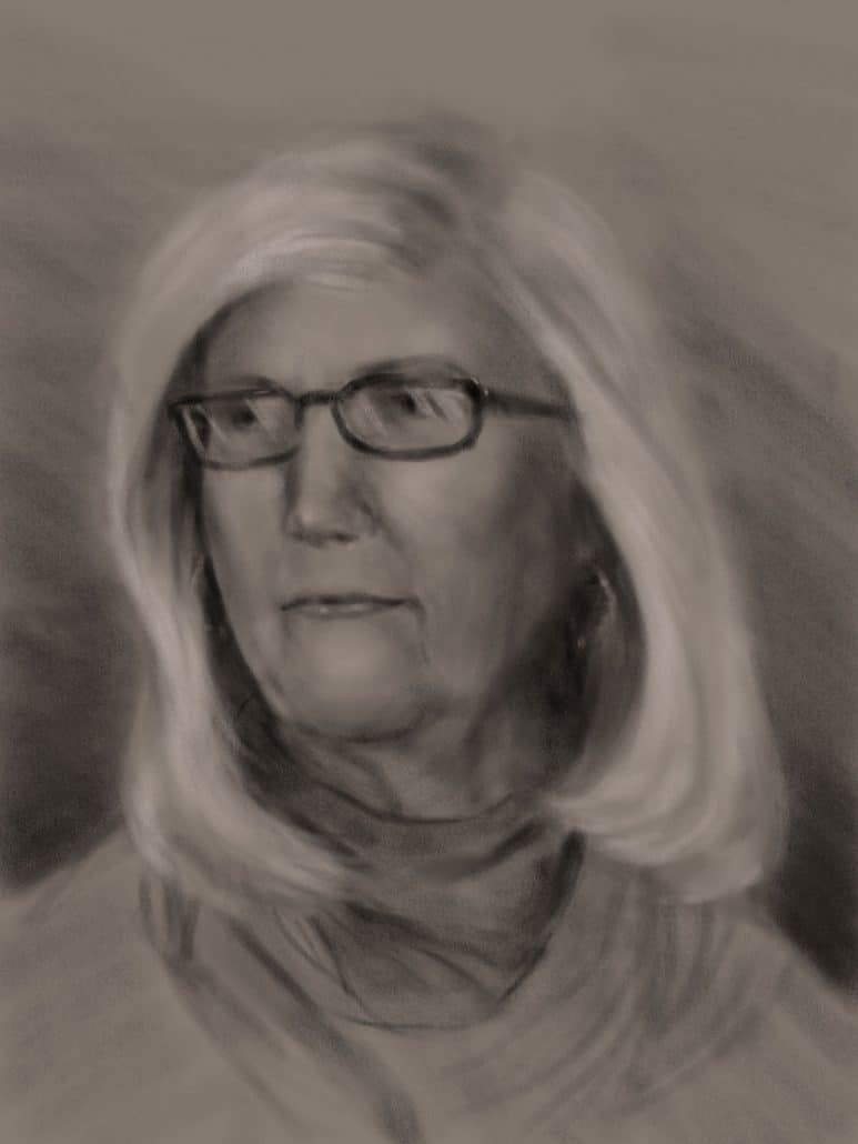 Portrait Drawing Session 01-20-18 by Miconi