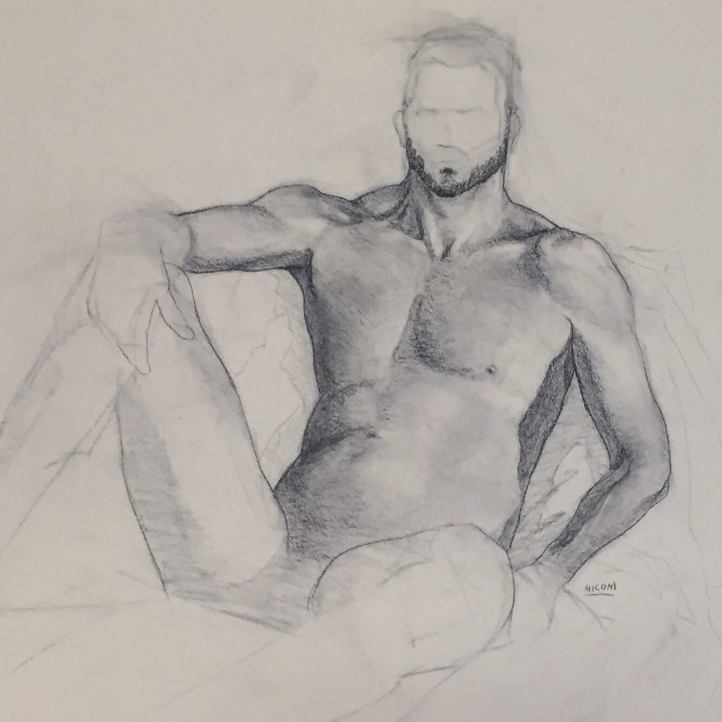 Weber State Figure Drawing Session Final Render