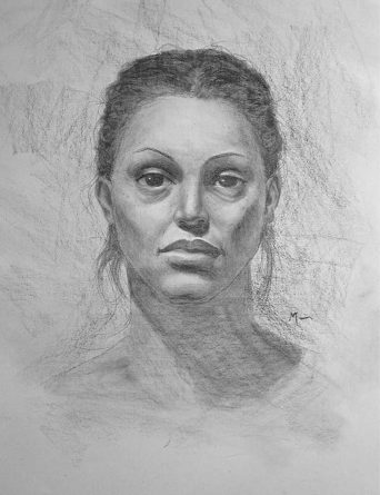 unknown-female-charcoal-portrait